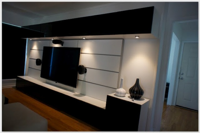 Great Entertainment Center Created With Ikea Besta And