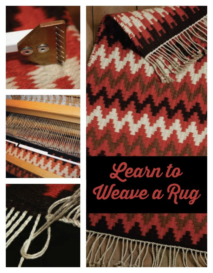 Fall Is The Perfect Season To Weave A Rug! Learn The Basics With Tom Knisely