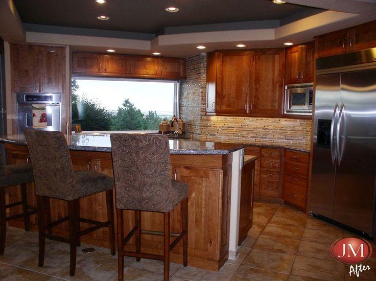 Colorado Rustic Kitchen Gallery   JM Kitchen Denver Castle Rock CO. 19 best Denver Kitchen Cabinet Showrooms images on Pinterest