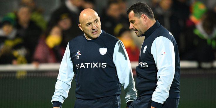 SPORT - Laurent Travers et Laurent Labit, actuels entraîneurs du Racing 92, dirigeront la future équipe de rugby qui naîtra de la fusion du Racing 92 et du Stade Français.