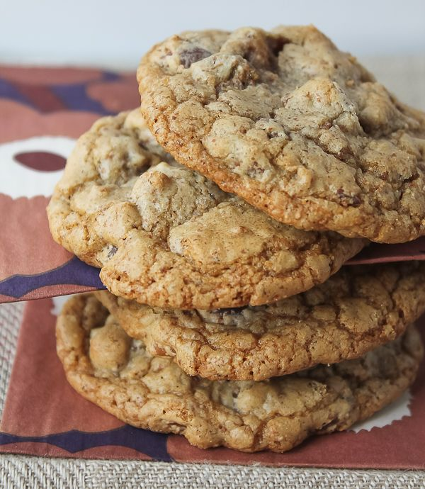 There are a million ways to make chocolate chip cookies. This is a slight adaptation of a Christopher Kimball recipe from his latest Milk Street magazine.