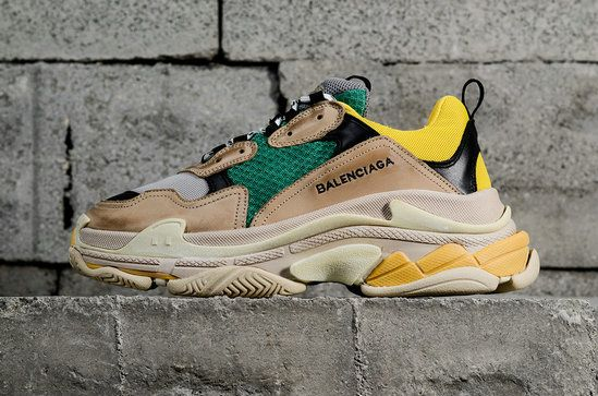separation shoes 6d462 4eb83 2018 How To Buy Balenciaga Triple S Trainer Yellow Green 483513W06E37070