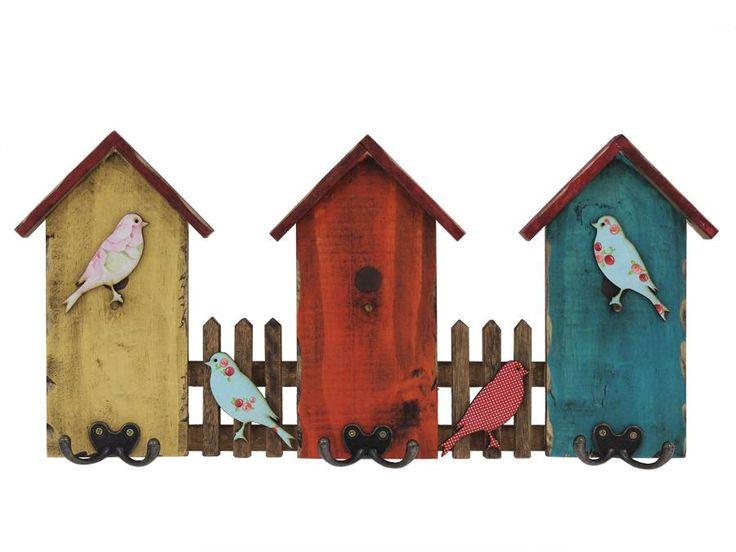 Cabideiro Casa de Pássaros                                                                                                                                                     Mais