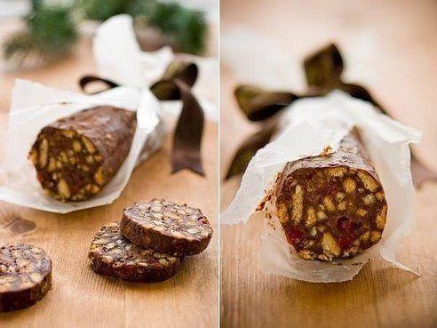 Шоколадная колбаска | Рецепты для Вас!