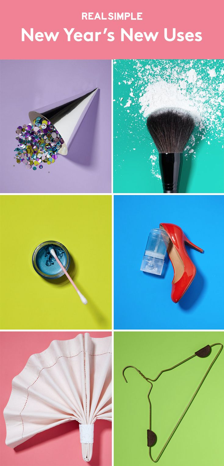 New Year's New Uses | Celebrate a new year with clever and creative ideas.