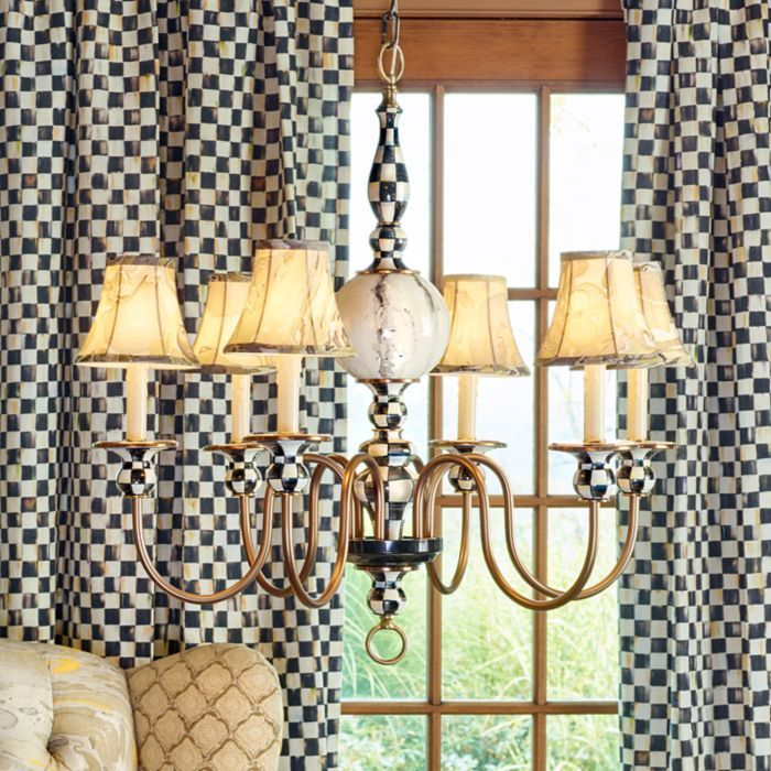 MacKenzie-Childs Courtly Palazzo Chandelier IN-STOCK