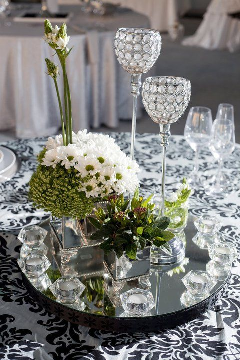 Wedding table decor - www.danienel.co.za;  http://www.hillcrestfarm.co.za/venues/weddings