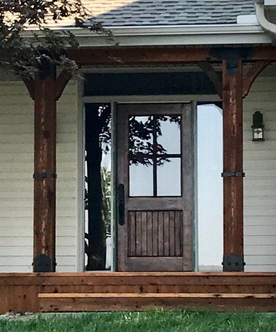 Half Lite Four Window Pane Farmhouse Entry Door Front Door Home Door Residential Door Replacement Doors Front Doors With Windows Entry Doors Farmhouse Entry