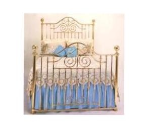 brass bed style 117 - Brass Beds
