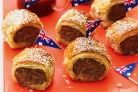 Australia Day Pork rolls. This gave me inspiration because I found that this is a real Australian dish.