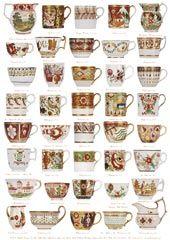 English Georgian & Victorian Flower Cups 1770 - 1876