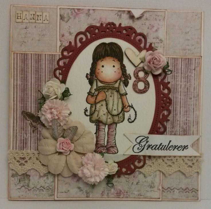 Bursdagskort, birthdaycard