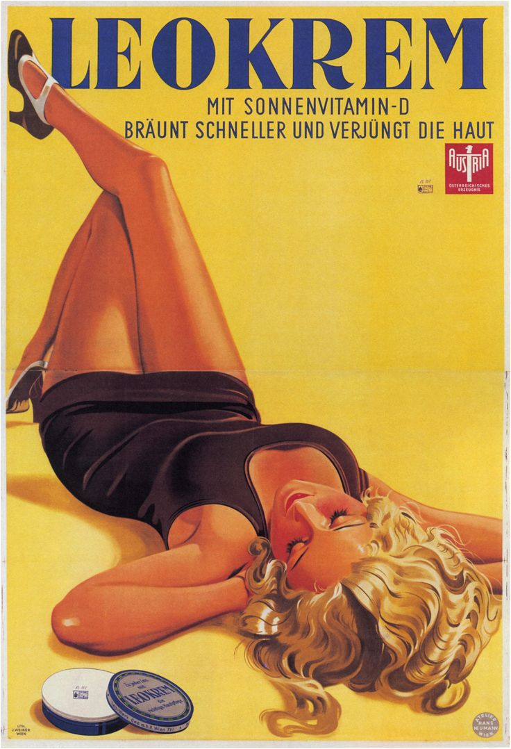 #Women in #Vintage #Advertising #Posters