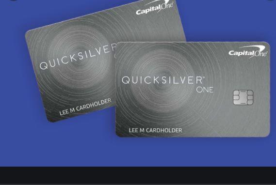 Capital One Quicksilver Cash Rewards Credit Card Application Online Login Activation Market Credit Card Application Travel Credit Cards Gas Credit Cards