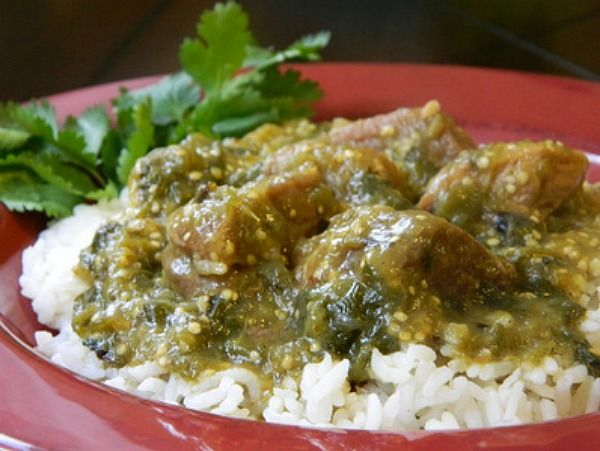 We loooooove chile verde over here. If you've seen my recipe archives you probably already know this about me. The other day my Nina was talking about how she makes her pork ribs with chile verde and how she adds...