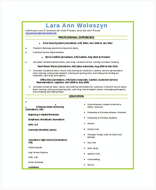Best 25+ Sample resume templates ideas on Pinterest Sample - duties of a waitress for resume