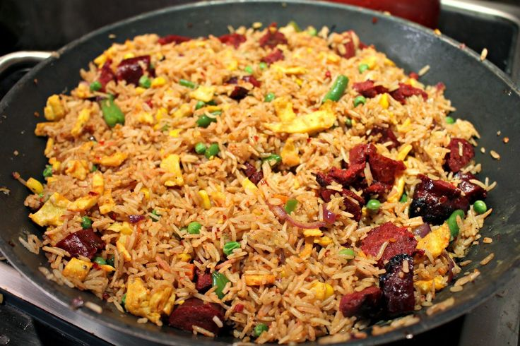 Cambodian fried rice or Yang Chow rice