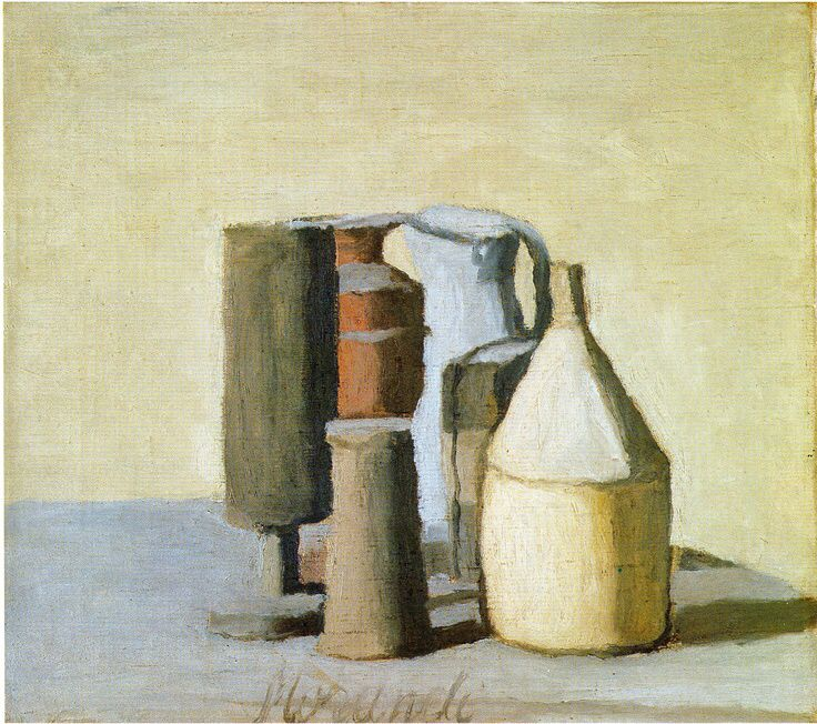 giorgio morandi s art style and the Giorgio morandi approached painting with the concentration of a zen master working in the small apartment he shared with his mother and.