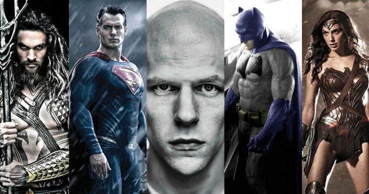 'Batman v Superman' Character Portraits (So Far...) -- Director Zack Snyder has released character portraits for Superman, Batman, Wonder Woman, Aquaman and Lex Luthor...Who's next? -- http://www.movieweb.com/batman-v-superman-character-posters-aquaman-lex-luthor