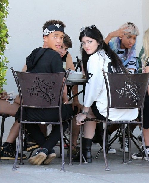Jaden Smith, Kylie Jenner, Willow Smith and Moisés Arias