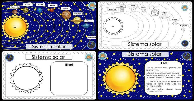 Impresionante cuaderno para trabajar el SISTEMA SOLAR