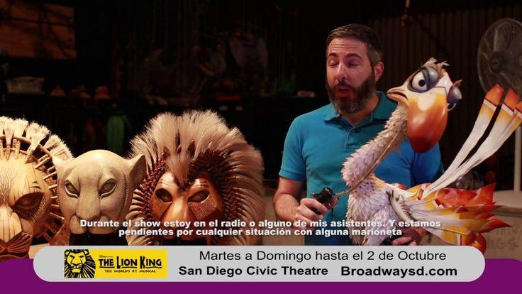 Segmento Entravisión para Disney's The Lion King