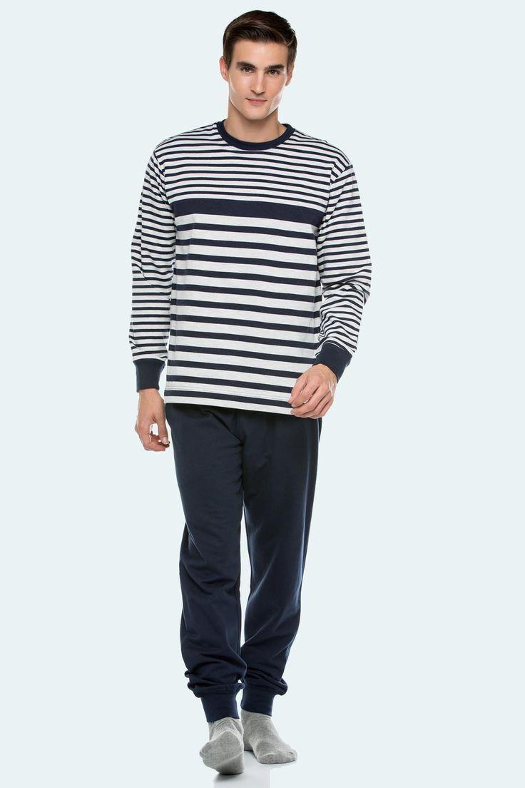 Pijama invierno Punto Blanco modelo Silence felpado