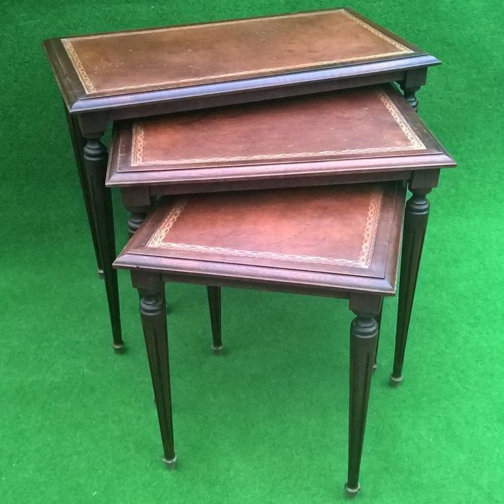 410 best meubles de style images on pinterest furniture 19th century and a - Table basses gigogne ...