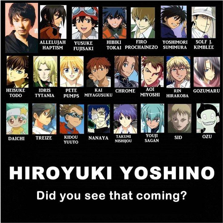 Hiroyuki yoshino seiyuu pinterest