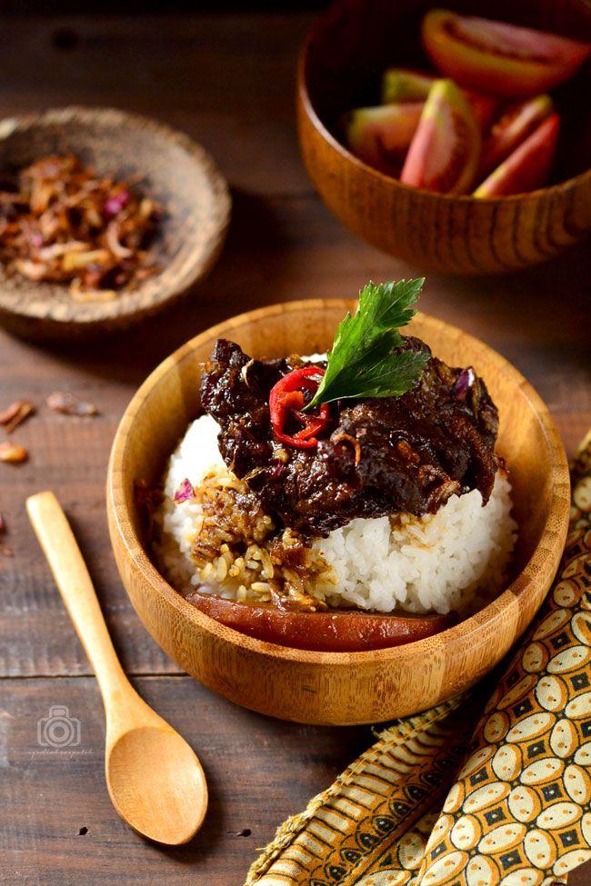 Semur Daging ala Betawi Ide makanan, Semur daging, Makanan