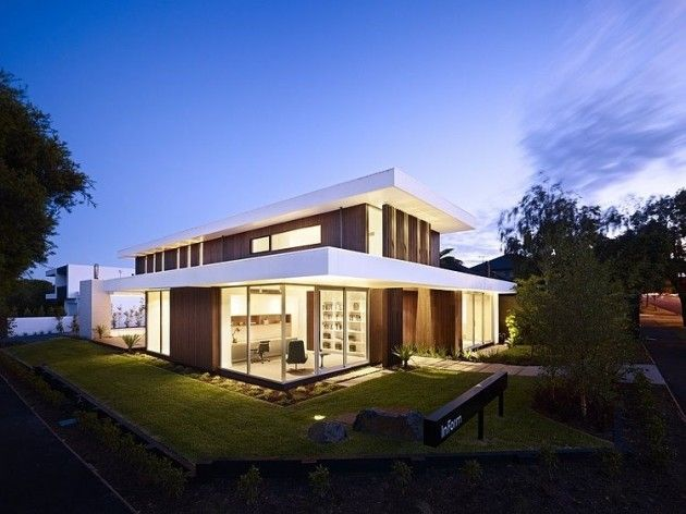 Top 10 modern house designs for 2013 california house in for Brighton homes home designs