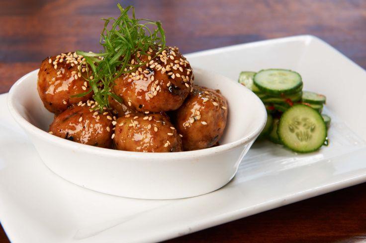 Japanese Style Chicken Meatballs