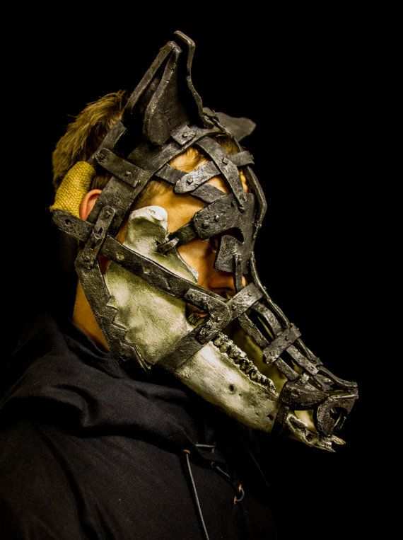 Schandmaske, pig mask