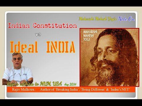 Rajiv Malhotra amazing speech at Maharishi University of Management, USA