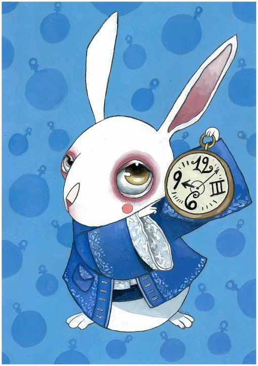 White Rabbit by ~KaterinaChadoulou on deviantART