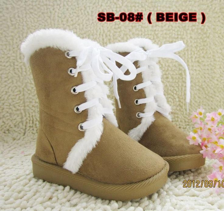 Sepatu boots Beige (SB-08)
