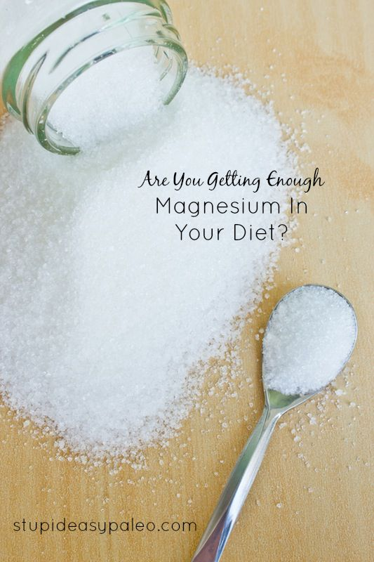 Are You Getting Enough Magnesium In Your Diet? | stupideasypaleo.com #health #nutrition