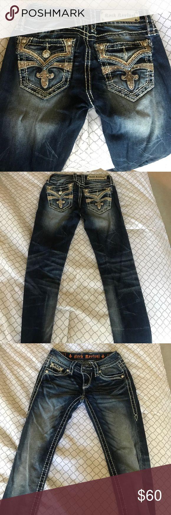 Rock revival jean Rock revival skinny jeans size 25 Rock Revival Jeans Skinny
