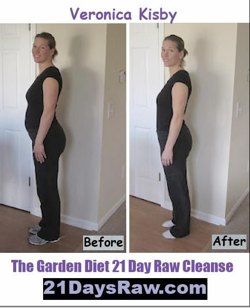 Before and after the garden diet before and afters - Garden of life raw meal weight loss results ...