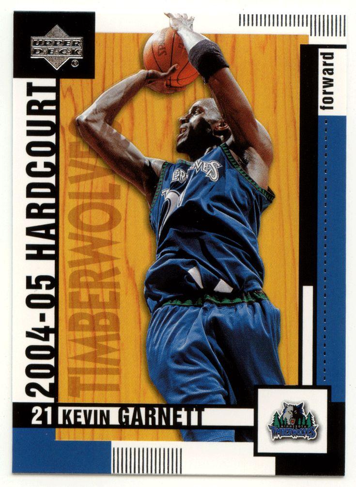 Kevin Garnett # 49 - 2004-05 Upper Deck Hardcourt Basketball