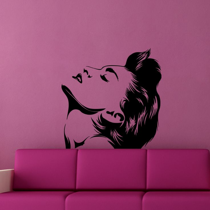 Marilyn Monroe Portrait Wall Decal  Let Hollywood's history live on your walls with this gorgeous Marilyn Monroe Portrait Wall Decal. This decal features the late film siren in a profile-style headshot and perfectly captures the brand of sex appeal she became so famous for. Perfect for classic film fans, this design is sure to inspire your inner artist.