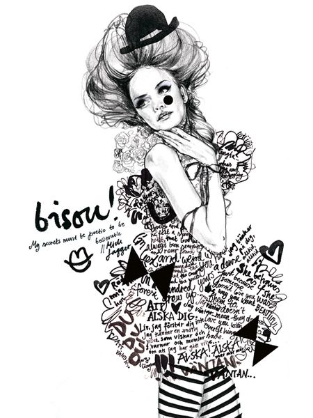 """Bisou"" by Lina Ekstrand"