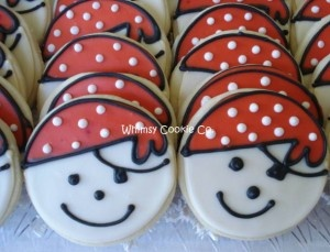 adorable pirate cookies