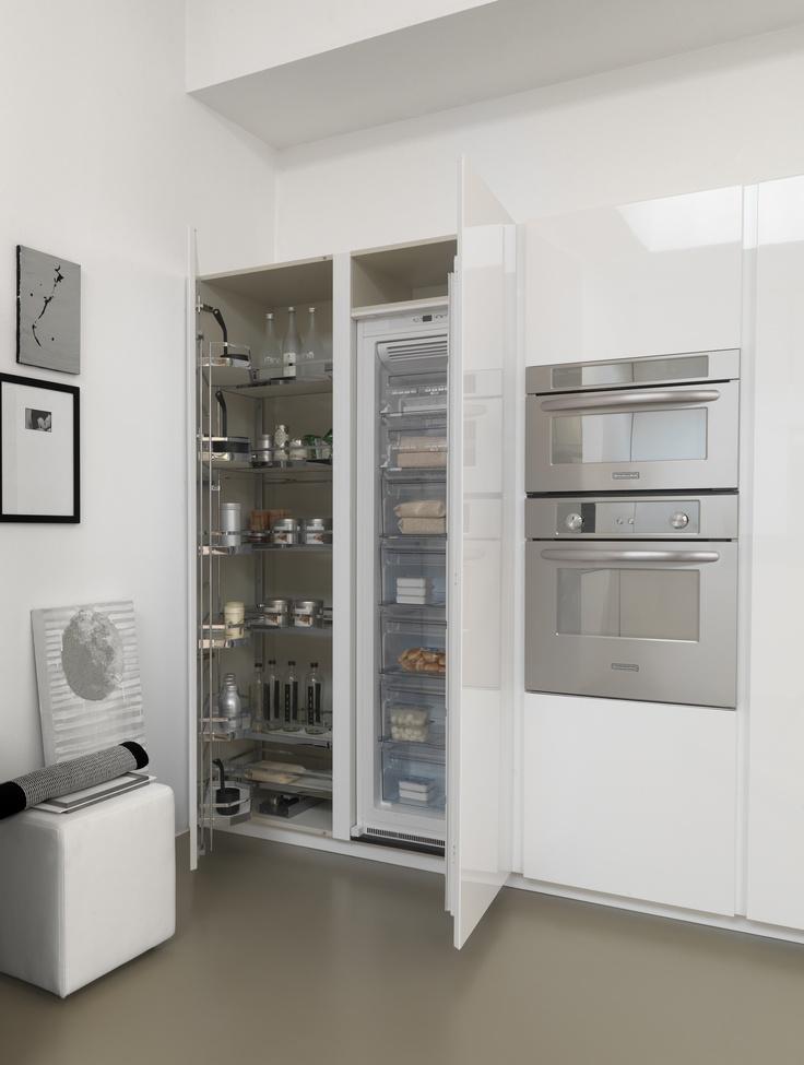 17 best images about modulnova kitchens interior for Tall kitchen drawer unit