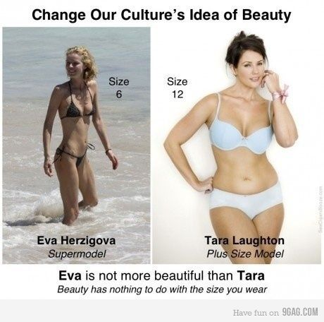 "So much body shaming. Thin = admired and loved.  ""Fat"" = loser and unlovable.  STOP shaming."