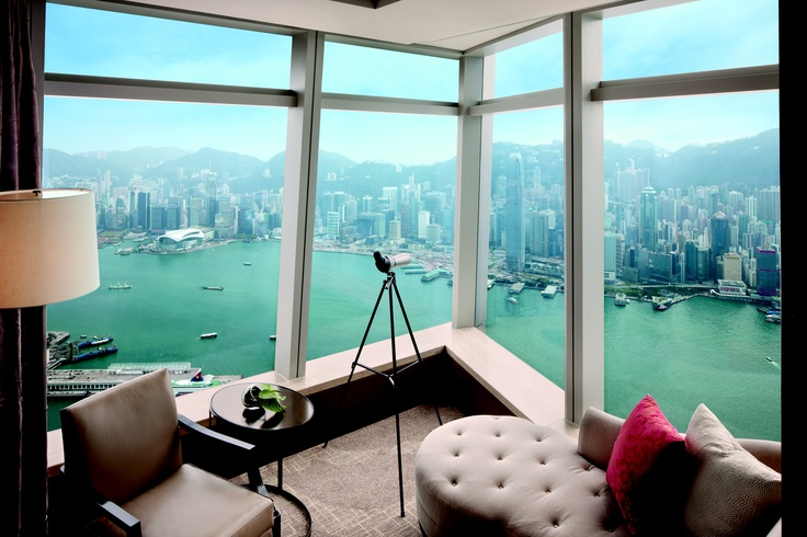Deluxe Harbour Island Kamer at The Ritz Carlton *****, Hong Kong