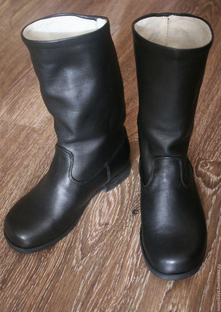 Купить Сапоги хромовые, не кирзовые, кожаные - сапоги, кожаные сапоги, хромовые сапоги, офицерские сапоги