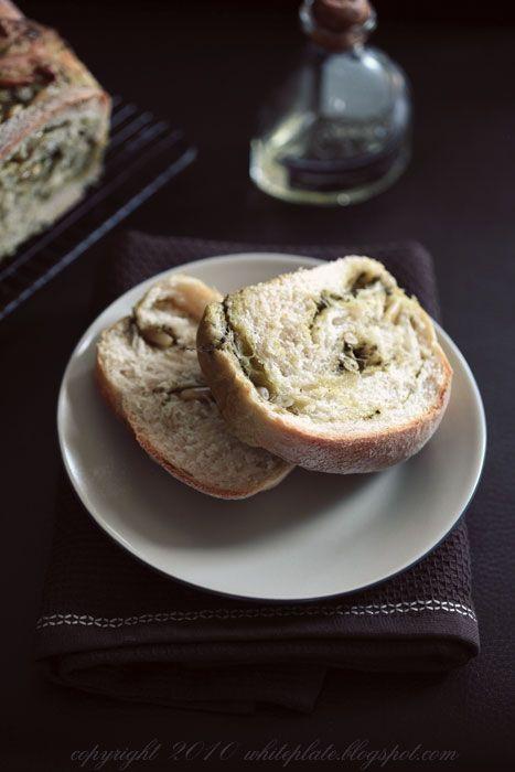 Pracownia Wypieków: Chlebek z pesto. Ulubiony.