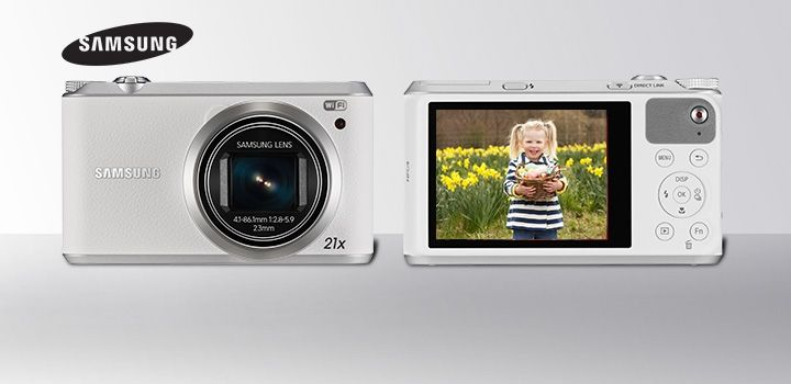 Snap and share pictures instantly with Samsung's Smart Camera! #Samsung #TheGoodGuys