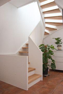 Scheune wird Wohnhaus modern-treppenhaus